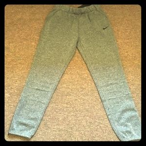 Never worn Grey Nike Joggers